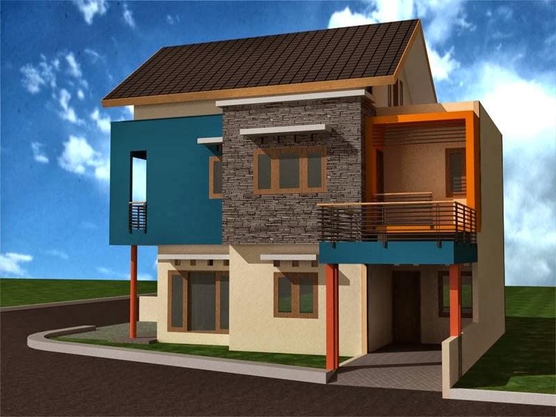 Desain Dekorasi Rumah Minimalis 2 Lantai yang Unik