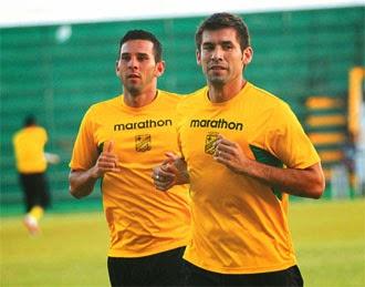 Oriente Petrolero - Ronald García - Alejandro Meleán - DaleOoo.com web del Club Oriente Petrolero