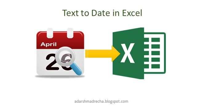 Convert Text to Date when Importing Data to Excel - Adarsh Madrecha
