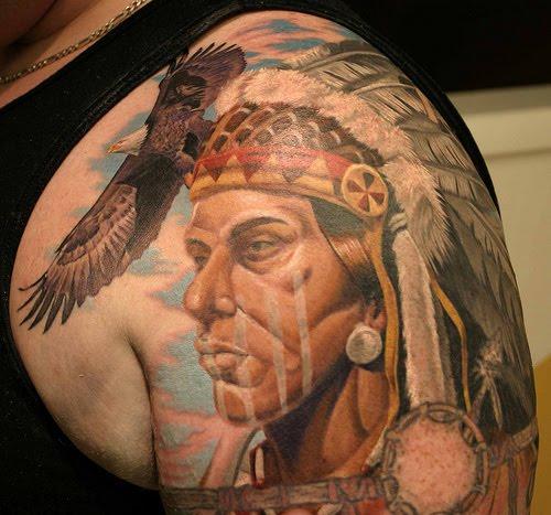 unique tattos 2011 native american tattoo art best inspirate tattoos design. Black Bedroom Furniture Sets. Home Design Ideas