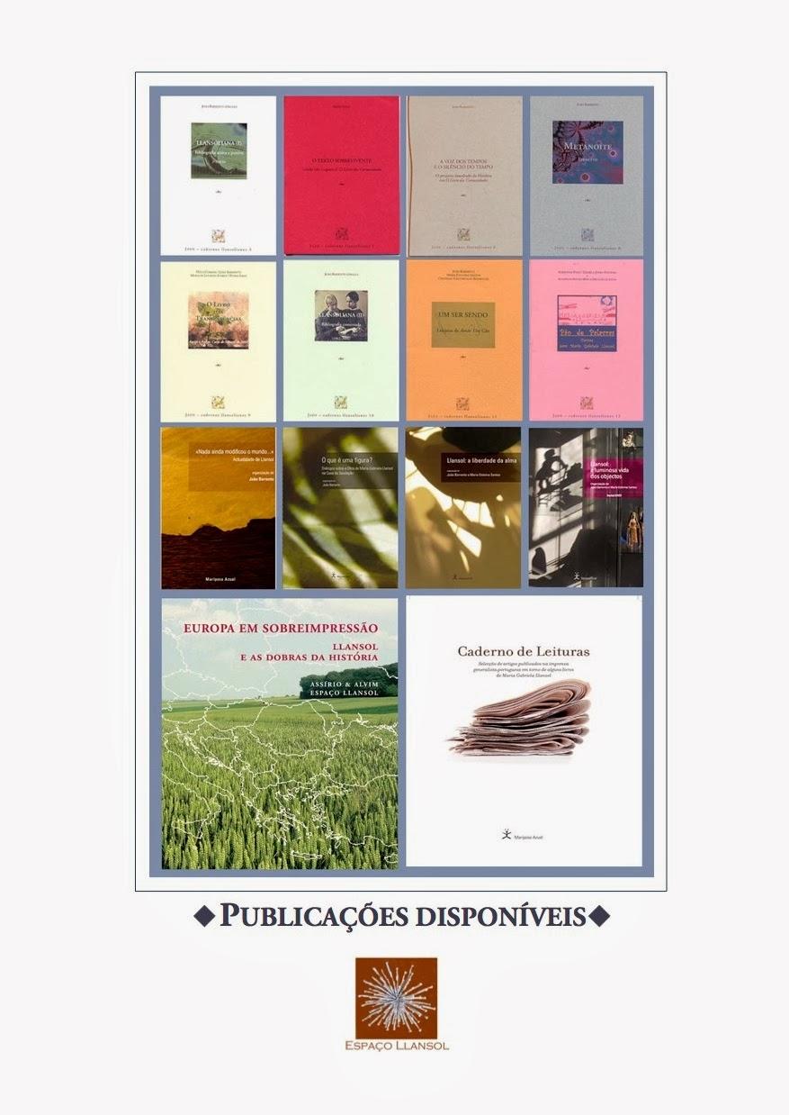 Publicações disponíveis (arrastar para o ambiente de trabalho para ler)