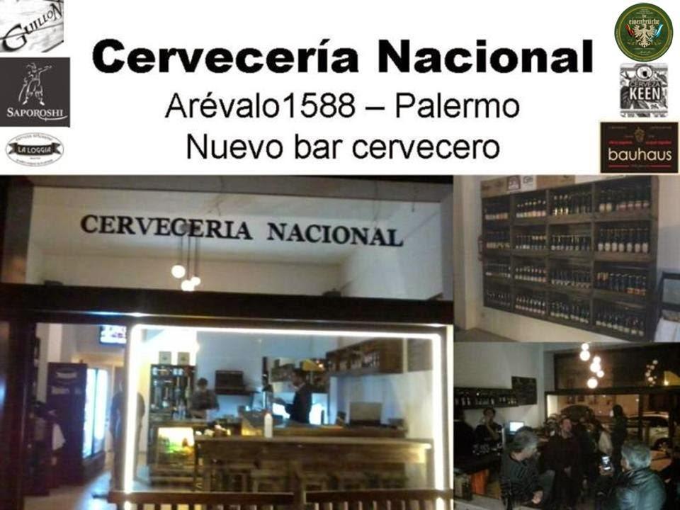 Nuevo Bar Cervecero....... Cervecería Nacional