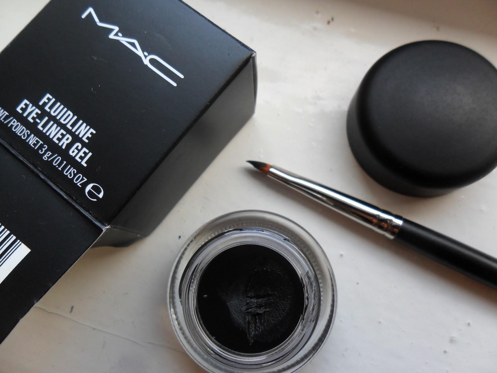 Beauty May Be Mac Fluidline Blacktrack