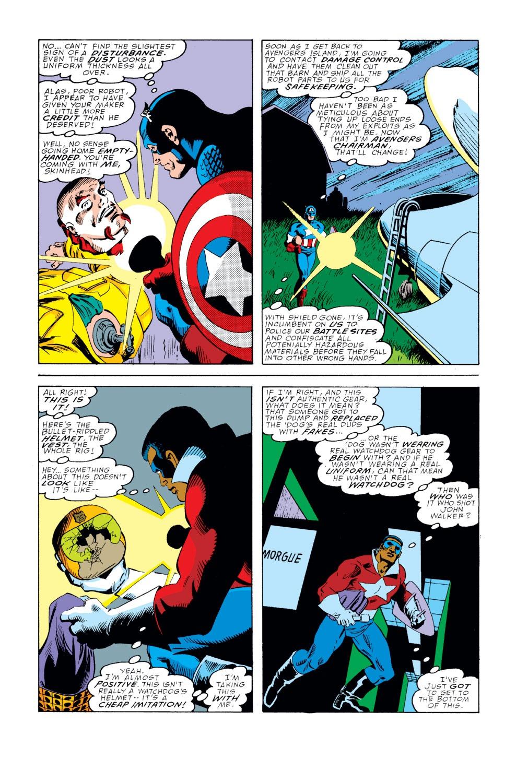 Captain America (1968) Issue #354 #286 - English 5