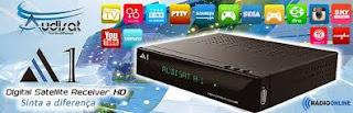 AUDISAT A1 HD V 1.26 CHAVES 322W/30W/61W - ATUALIZAÇÃO 21/07/2015
