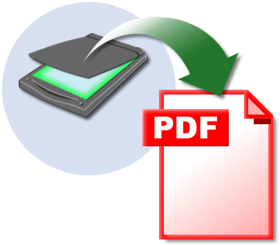 how to scan a document as a pdf file
