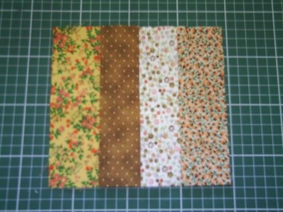 Tapete Patchwork Simples : Seu Atelier de Patchwork: Passo a Passo de um Tapete Simples com Tiras