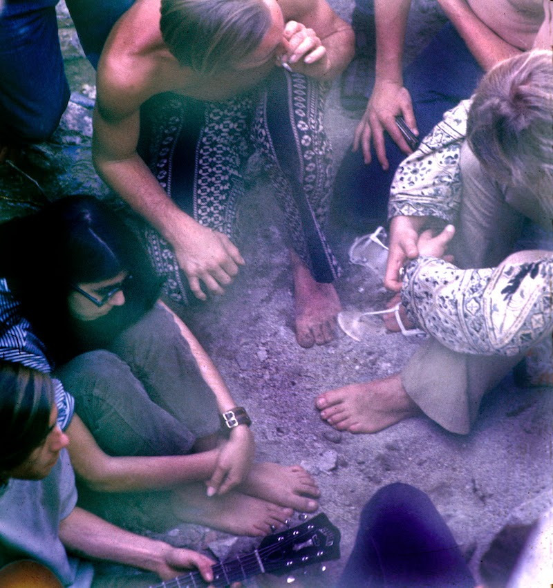 Hippies Smoking Weed 1960 Rare and Unseen Color ...