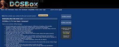 Dosbox homepage