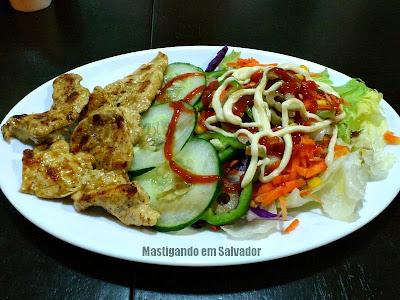 Kalil's Burger: Salada de Frango