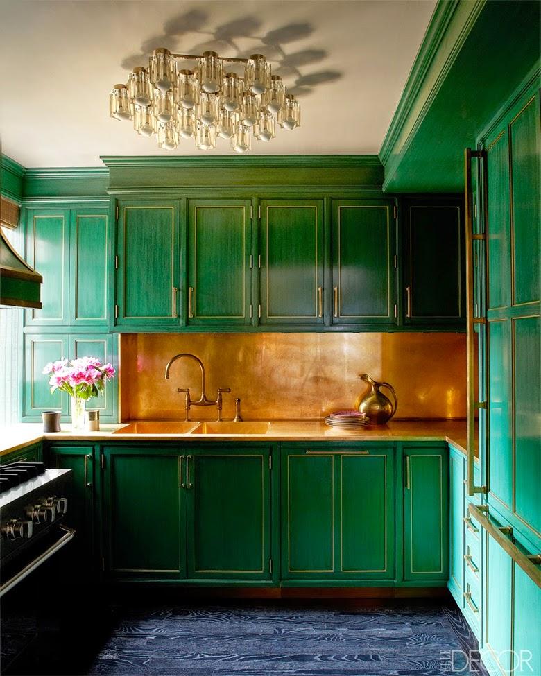 szmaragdowa zieleń kuchnia Cameron Diaz kuchnia gwiazdy