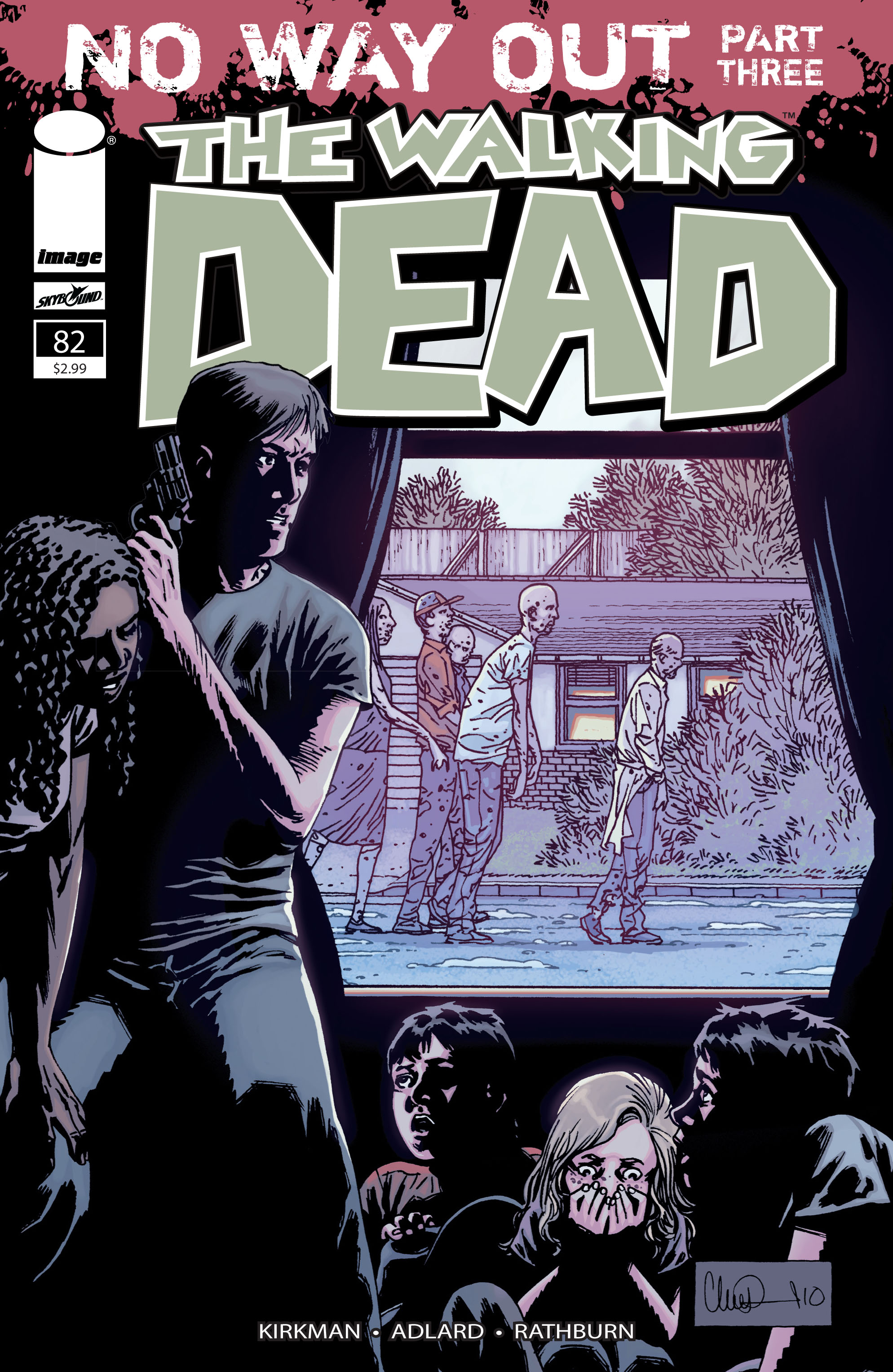 The Walking Dead Issue #82 Page 1