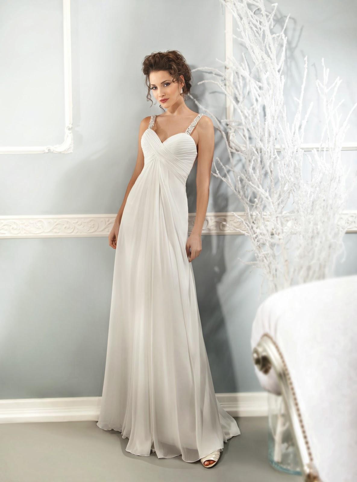 Vestidos largos matrimonio civil