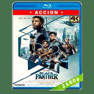 Pantera Negra (2018) 4K UHD Audio Dual Latino-Ingles