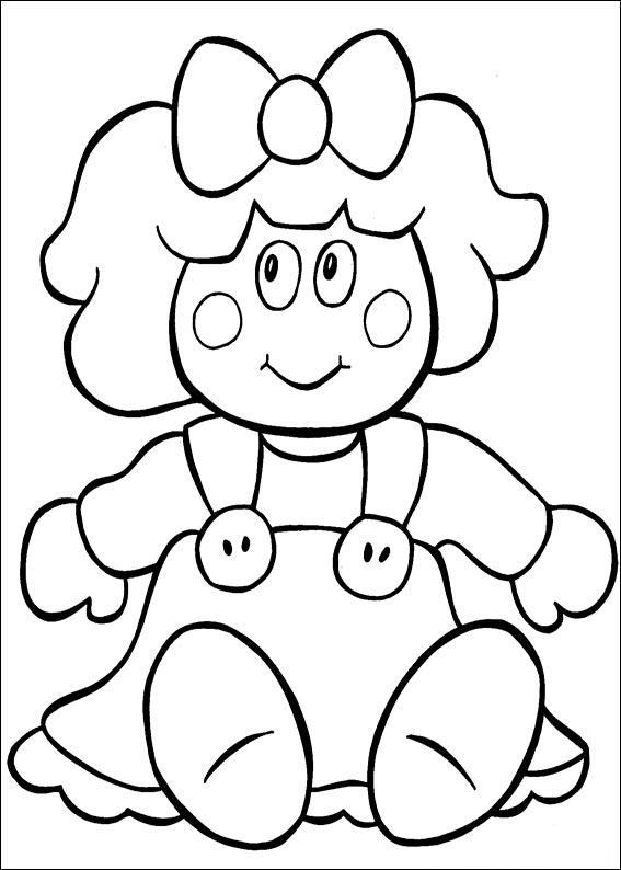 baby doll coloring pages printable - photo#29