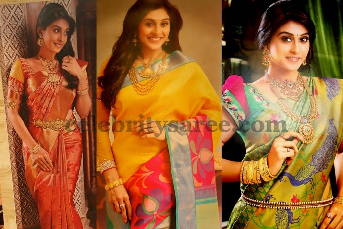 Regina in Chennai Shopping Mall Sarees