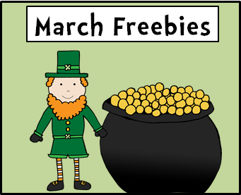 March Freebies Pinterest Board