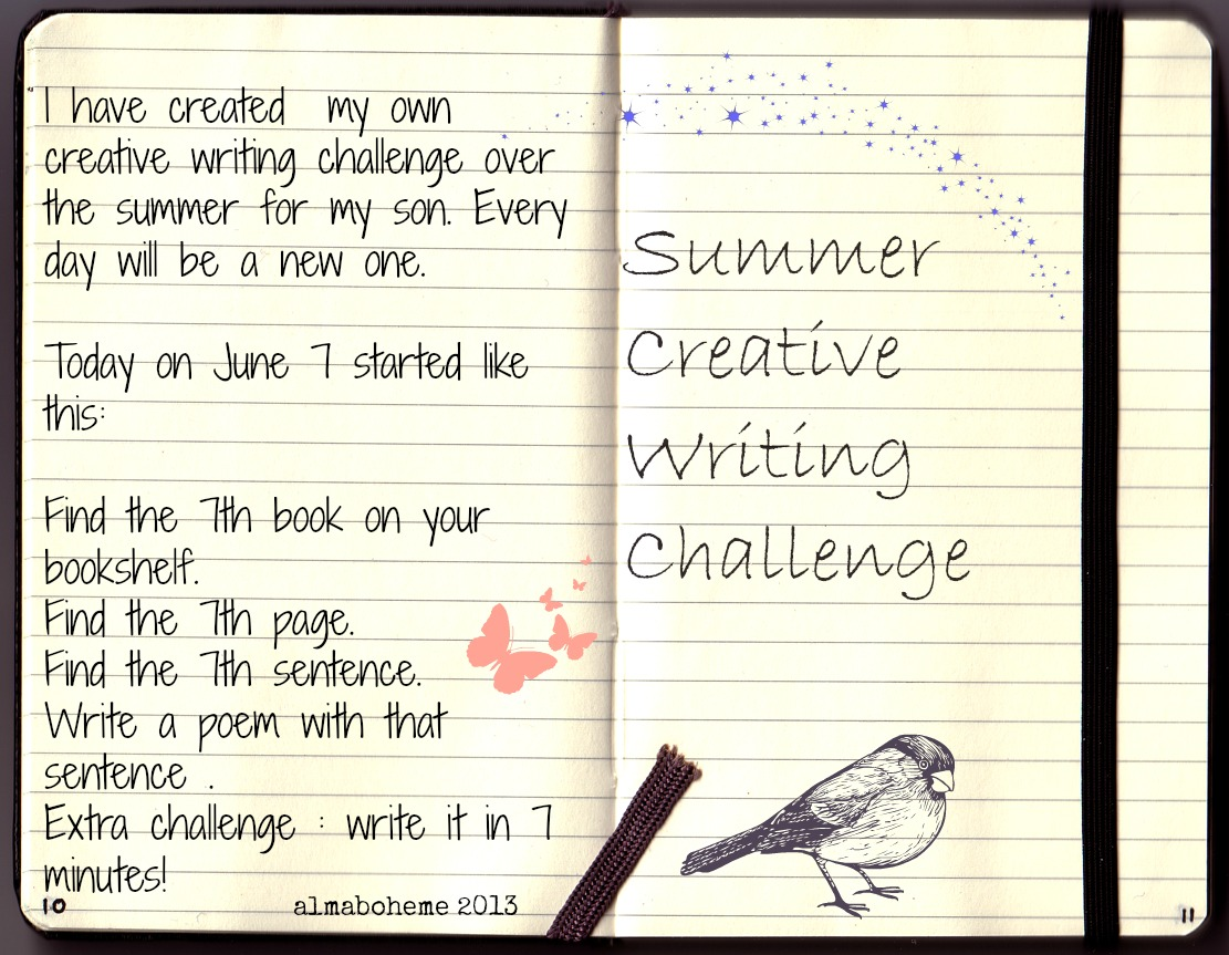 summer creative writing
