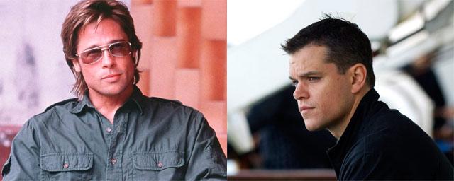 Brad Pitt como Jason Bourne (The Bourne Identity)