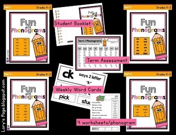 Fun With Phonograms- BUNDLE