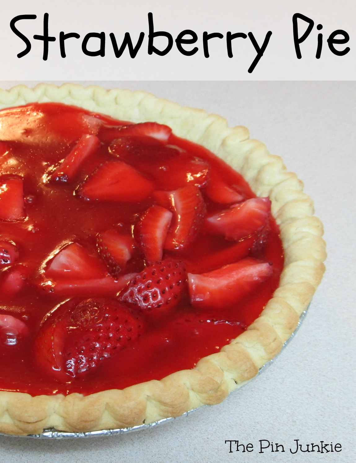 trawberry pie