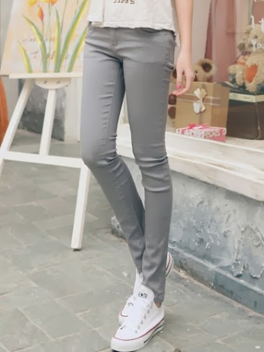 Leisure Women's Multi Bright Solid Color Pencil Pants