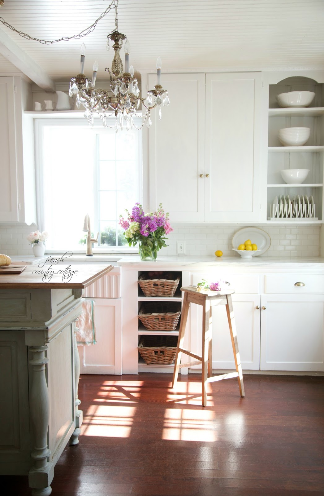 Renovated French Cottage kitchen
