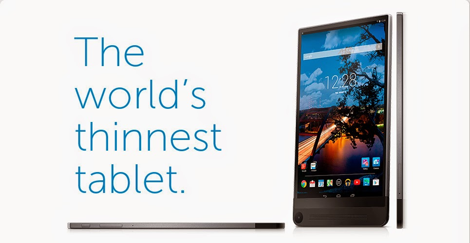 Dell Vanue 8 7000 Series Tablet The World s Thinnest Tablet