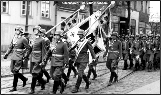 German army parade Tilsit 1936