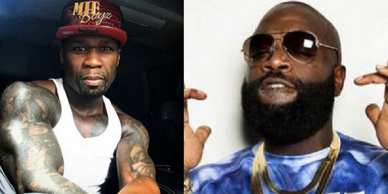 Rick Ross and 50 cent beef