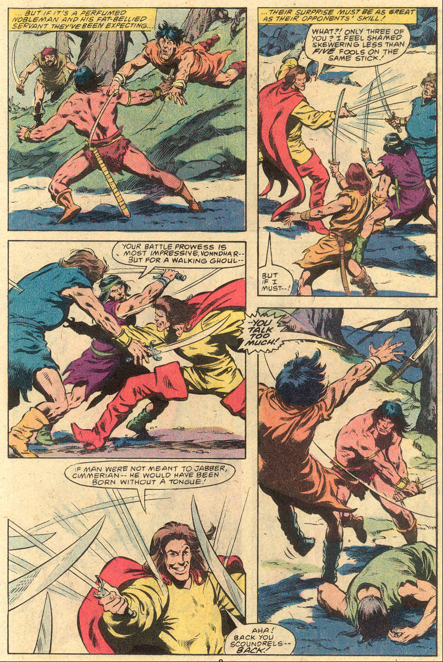 Conan the Barbarian (1970) Issue #120 #132 - English 9