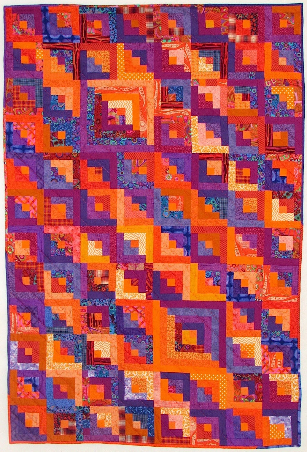 designs hyacinth peel orange dsc quilt