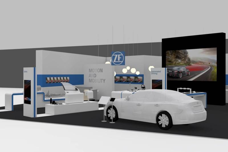Voiture du futur la technologie autonome et connect e au for Salon de la technologie