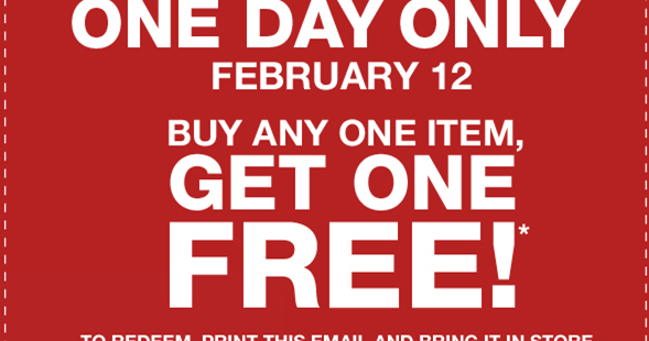 Gap outlet coupons february 2018