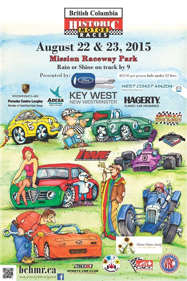 racin\' thru the raindrops: BC Historic Motor Races, Mission Raceway ...