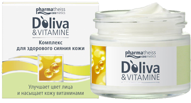 Pharmatheiss D`oliva&Vitamine Комплекс для здорового сияния кожи