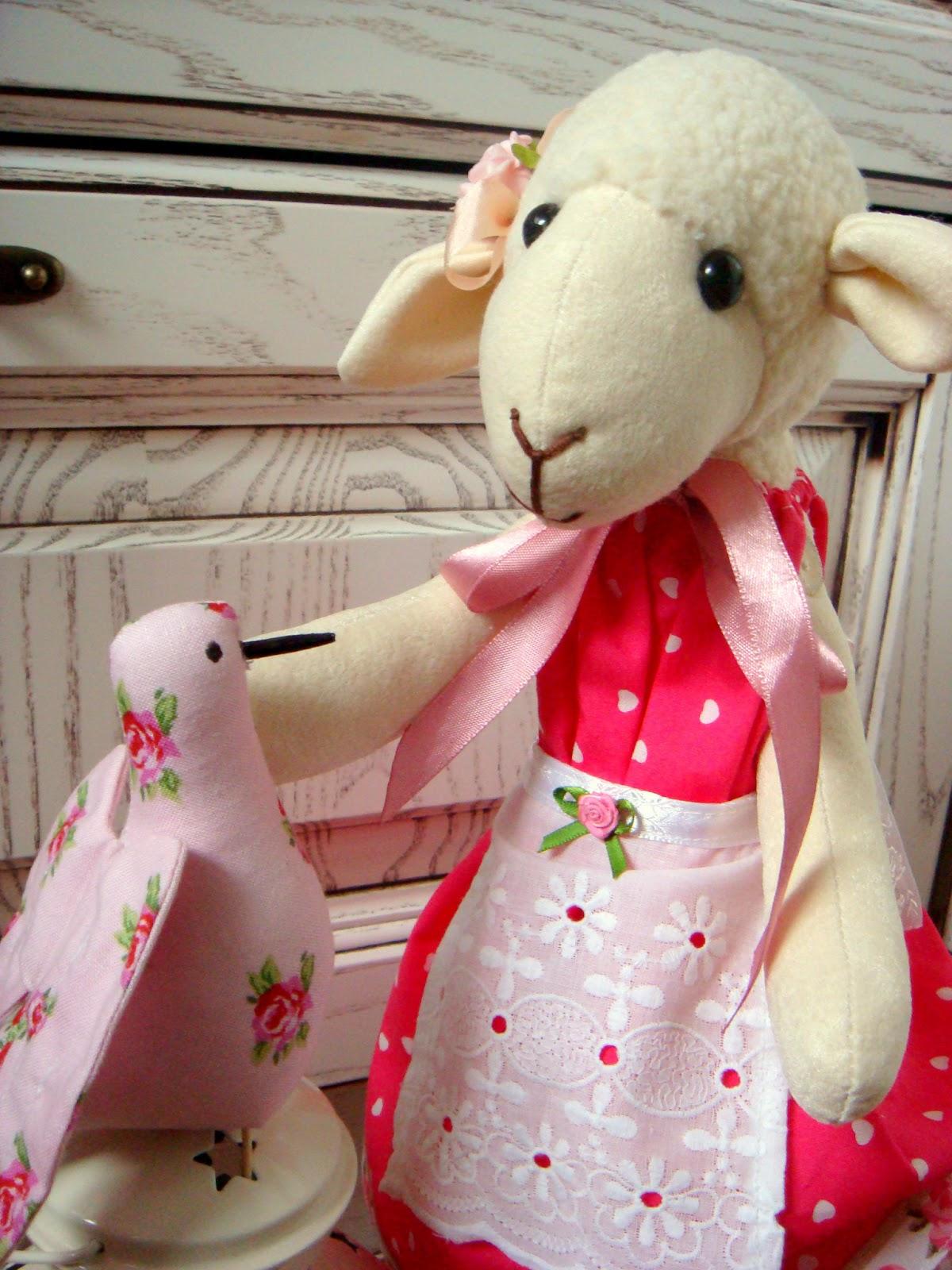 Игрушка овца своими руками