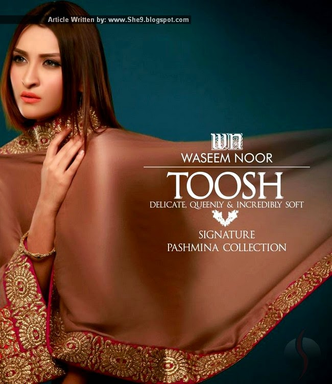 Toosh Signature Dresses by Waseem Noor
