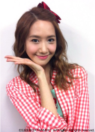 YOONA SNSD New Selca from SNSD Japan Site