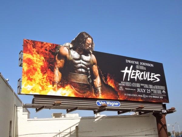 Hercules special extension movie billboard