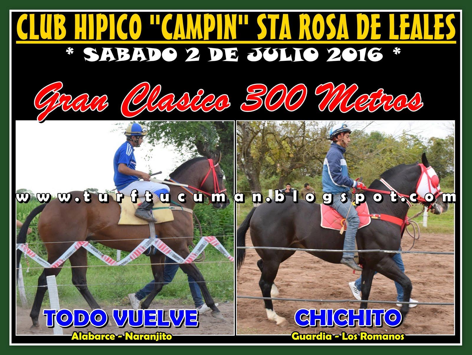 TODO VUELVE VS CHICHITO