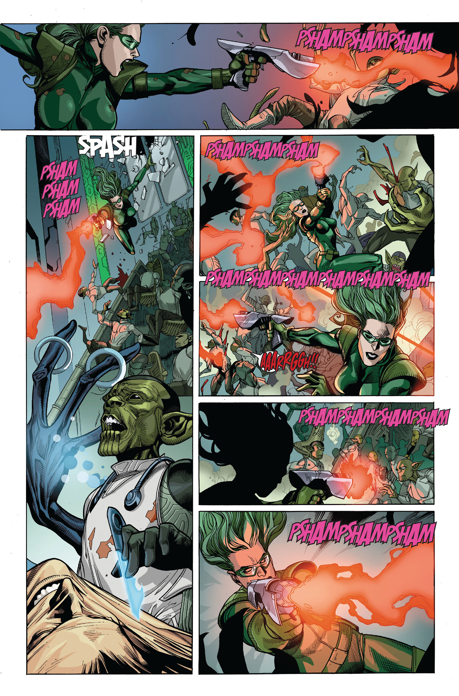 Read online Secret Invasion comic -  Issue #5 - 8