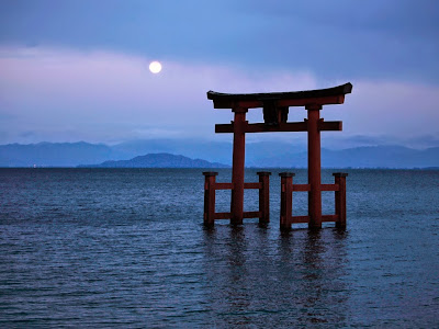 Credits: Shinto Shrine on Lake Biwa