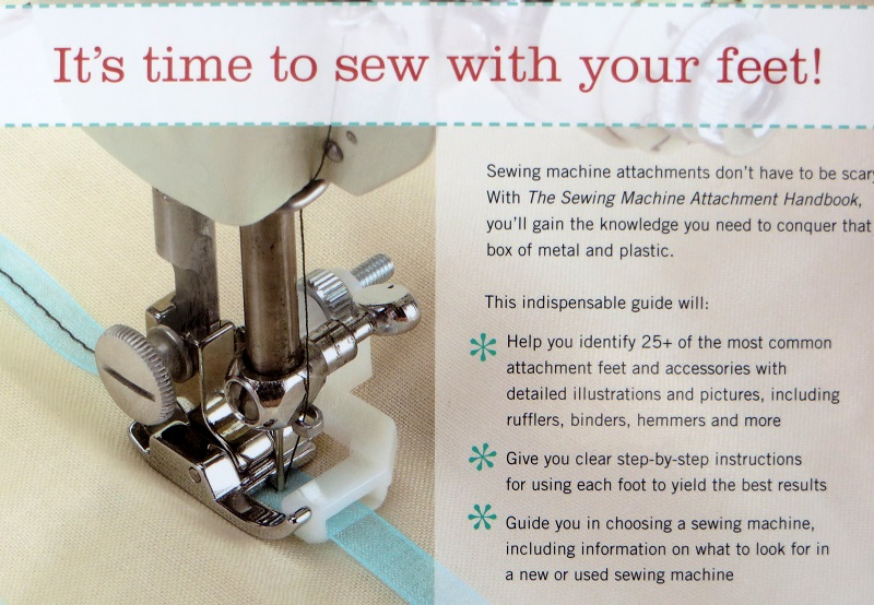 The Mystery Of Sewing Machine Feet Part 40 ⋆ Lazy Daisy Jones Simple How To Use A Sewing Machine Book
