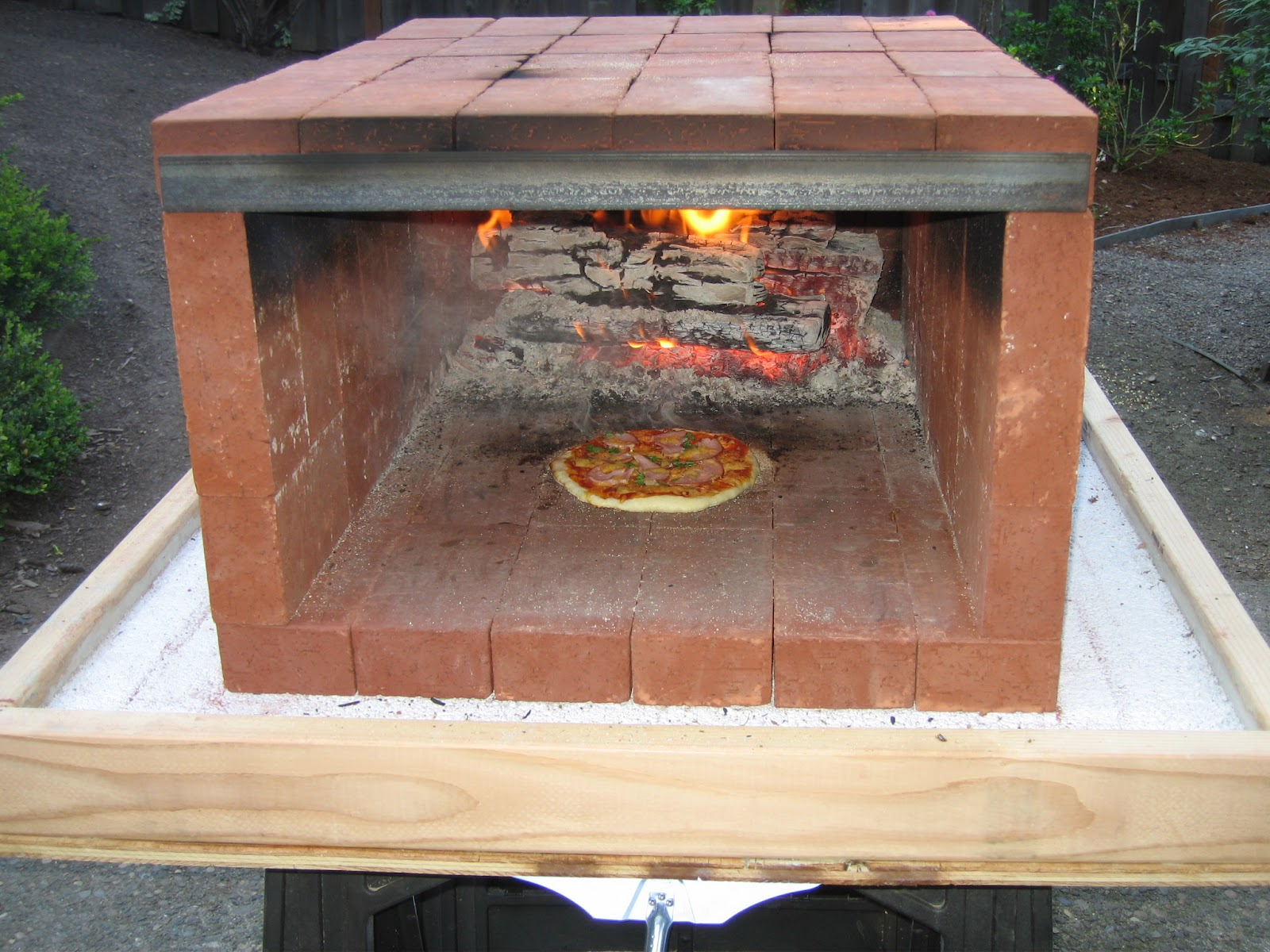 Build A Portable Wood Fired Pizza Oven