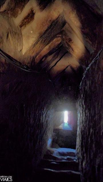 Interior de la torre de la Iglesia de la Asunción de villacarrillo