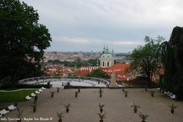 Prague Castle gardens