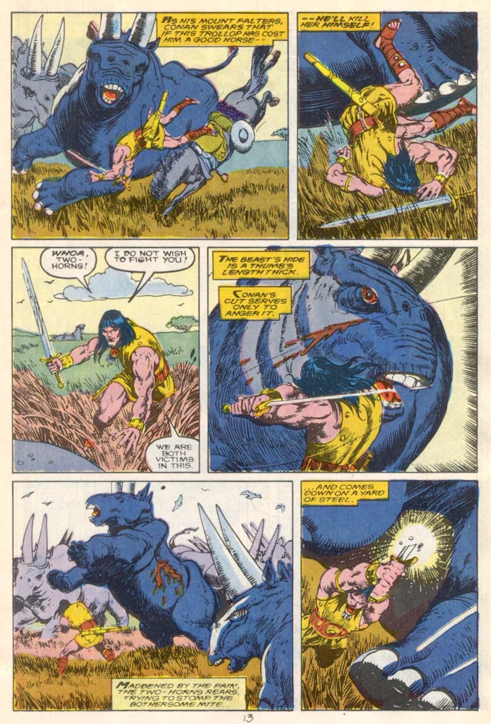 Conan the Barbarian (1970) Issue #210 #222 - English 10