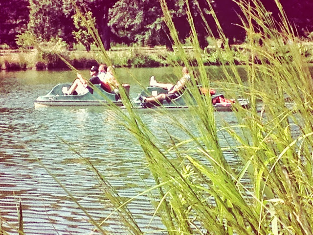 Paddle Boating at Forest Park