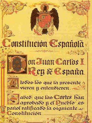"""""""La Constitución Española de 1978, última ley fundamental del franquismo"""" - publicado en el blog Cuestionatelotodo por Jose Luis Forneo  - 6 de diciembre de 2012 - Interesante Constitucion_de_1978"""